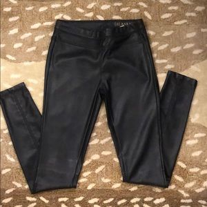 Blank NYC Pleather/faux leather Pants/leggings